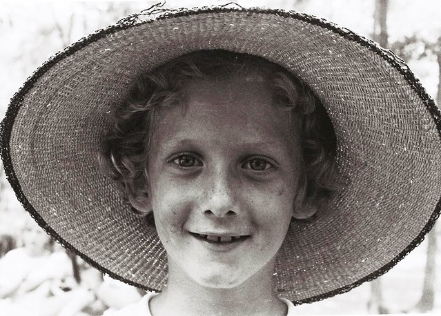 Portrait of a child, Cherry Hill, New Jersey, 1975