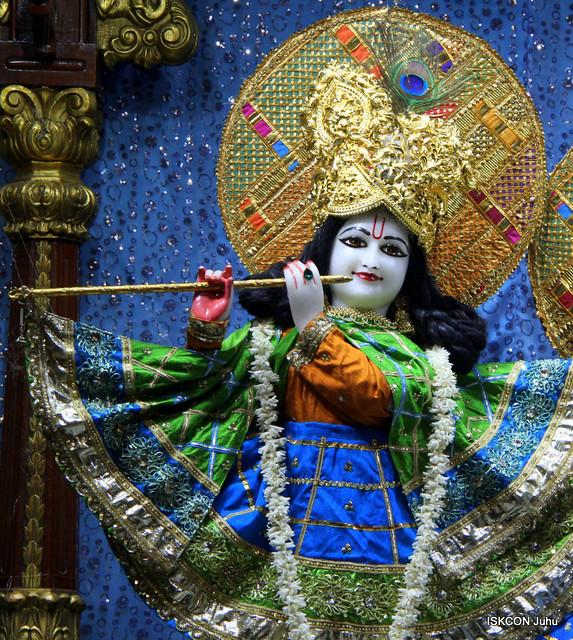 ISKCON Juhu Mangal Deity Darshan on 4th Jan 2020