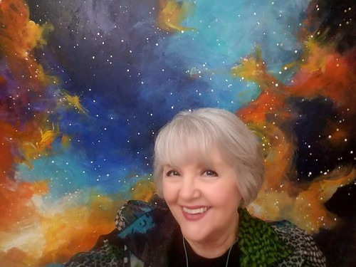"Lillian Verkins' ""Over the Moon"" Art Exhibit"
