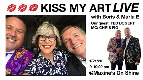 """Kiss My ART Live with Marla and Boris"""