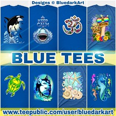 :blue_heart::sweat_drops: #Blue #Color #Tshirts :point_right: www.teepublic.com/user/bluedarkart :blue_heart::sweat_drops: #Design :copyright: #BluedarkArt #TheChameleonArt