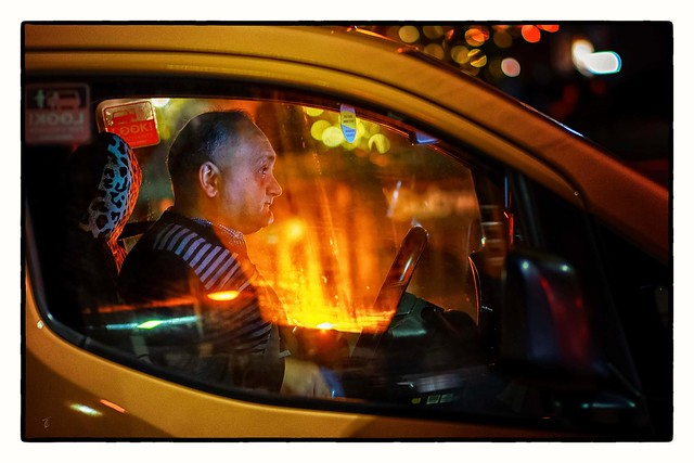 The Taxi Driver... This one is another tribute to Street Photography... Let me know if you like it...