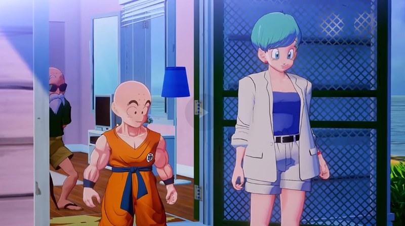Dragon Ball Z Kakarot - Krillin and Bulma