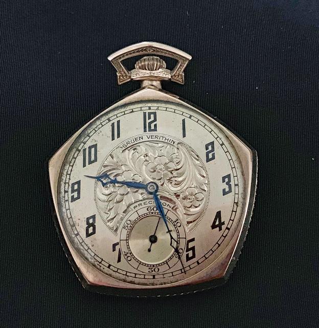 WMG's pocket watch, ca. 1926