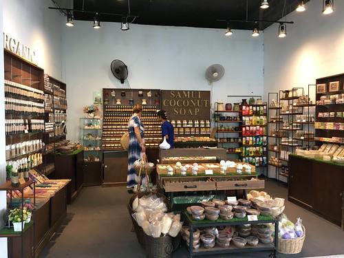 サムイ島 セントラルフェスティバルにサムイココナッツソープのお店オープン