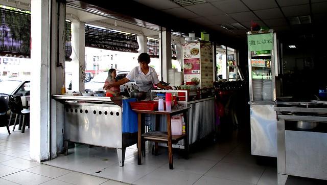 Beijing Restaurant kampua mee stall