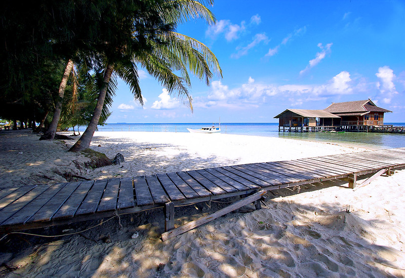 Paradise island of Karimunjawa, Indonesia