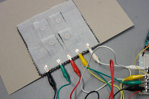 Electro-magnetic flaps