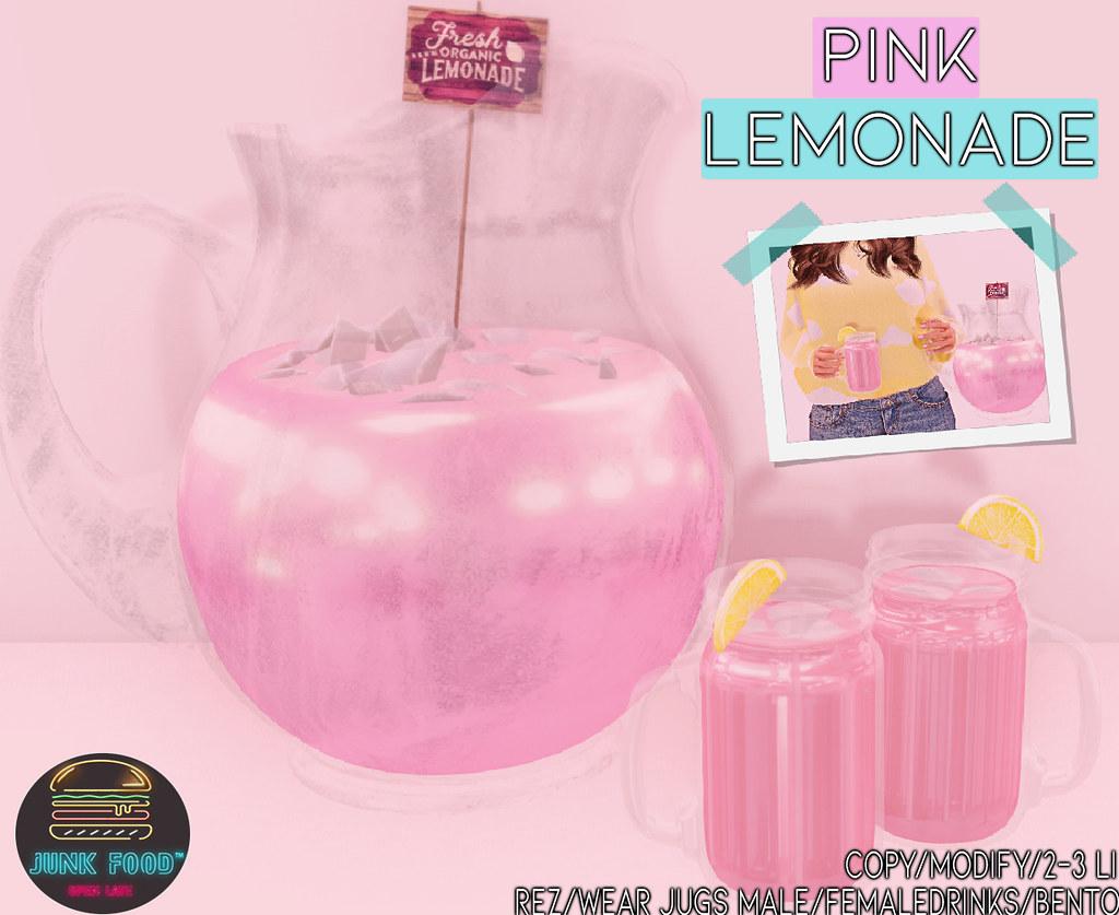 Junk Food – Pink Lemonade Ad