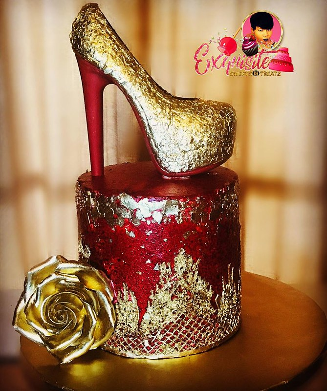 Cake by Exquisite Sweets N Treatz