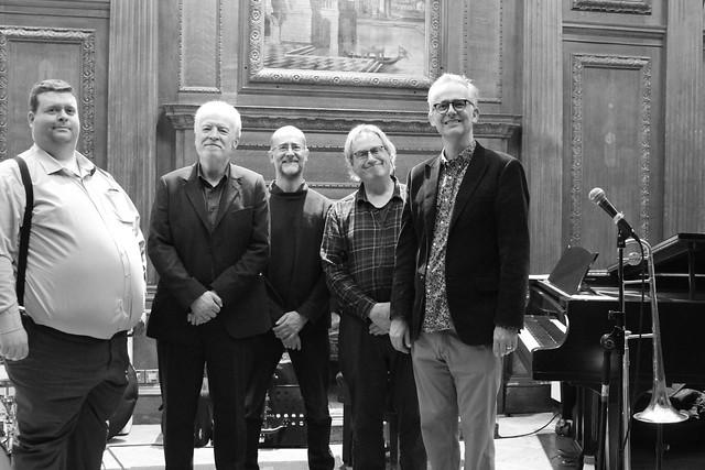 GEOFF SIMKINS & MALCOLM EARLE-SMITH @ Bracknell Jazz 3 Jan 2020