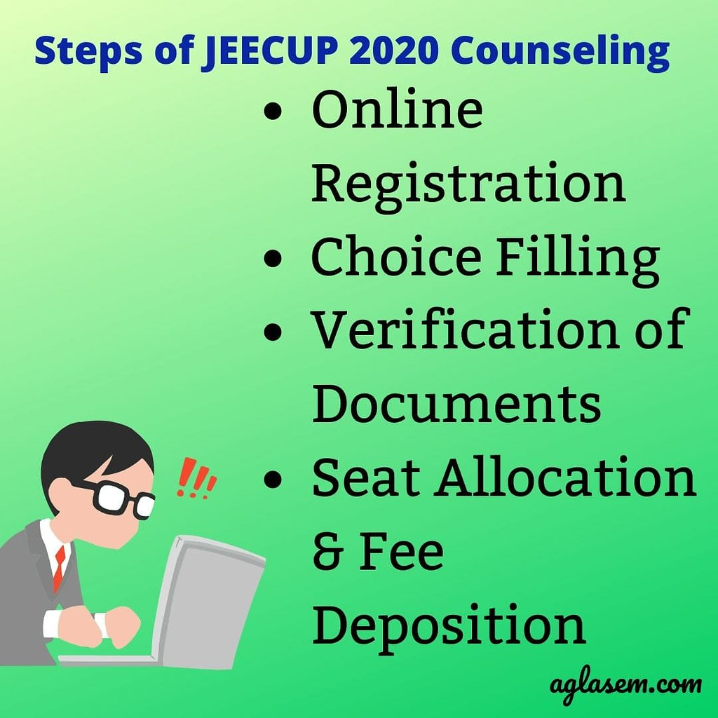 JEECUP counselling process
