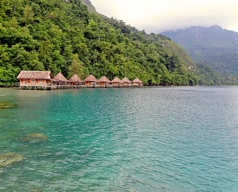 Ora Beach Resort in Maluku, Indonesia
