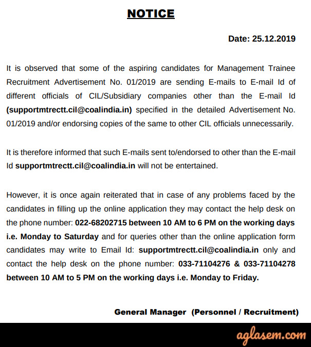 CIL Application Form 2020 (Available): Apply Online, Know last date, How to apply
