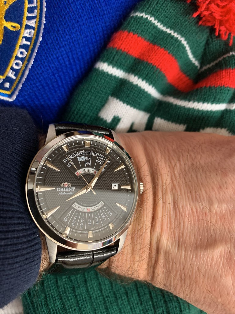 My first ever Orient. I wasn't exactly wowed when it arrived but it's grown on me!