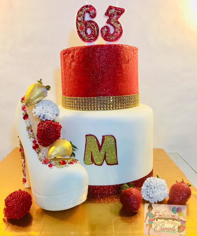 Cake by Sugar Street Sweets