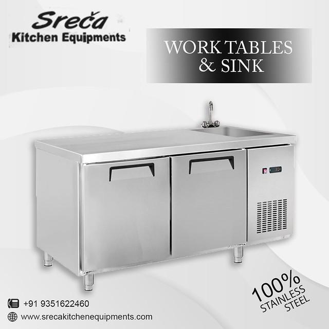Work Tables & Sink