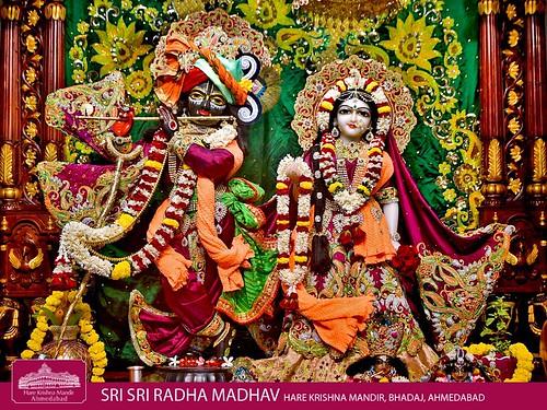 Hare Krishna Temple Ahmedabad Deity Darshan 04 Jan 2020