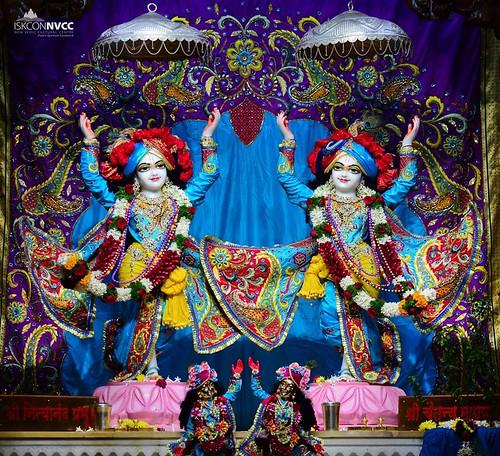 ISKCON Pune NVCC Deity Darshan 04 Jan 2020
