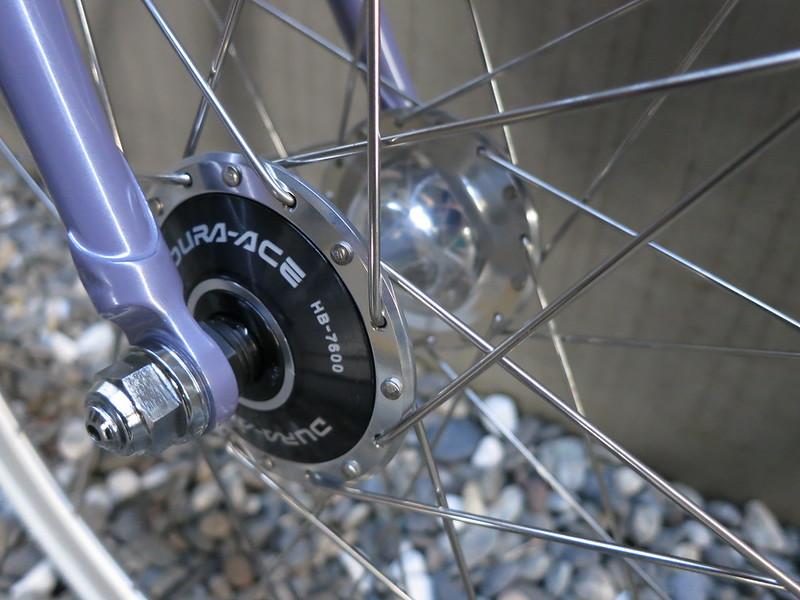 SURLY Steamroller Lilac Dura Ace Hub