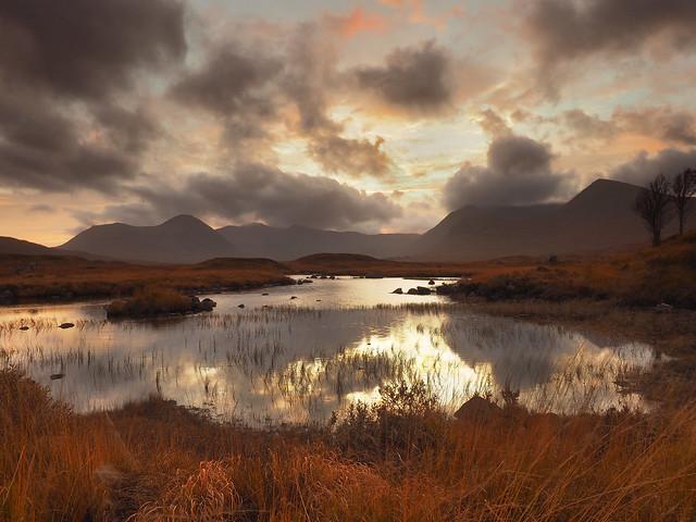 Glencoe sunset...