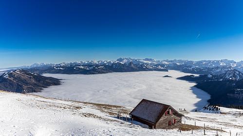 rigi kulm schwyz schweiz myswiterlandcom swissviews switzerland mountains swissmountains fogsea nebelsee panorama landscape landschaften winter schnee blauerhimmel neujahr