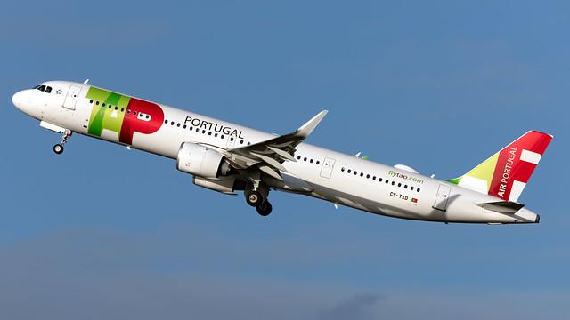 TAP Portugal CS-TXD A321-251NX EGCC 03.01.2020