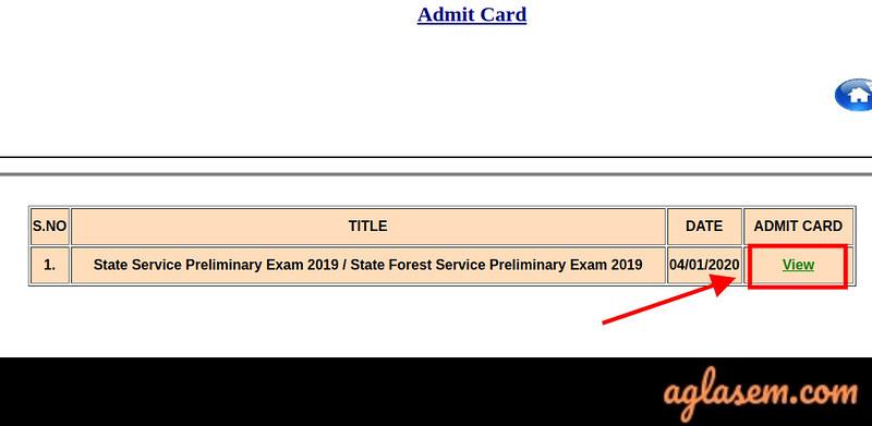 MPPSC SSE Admit Card 202