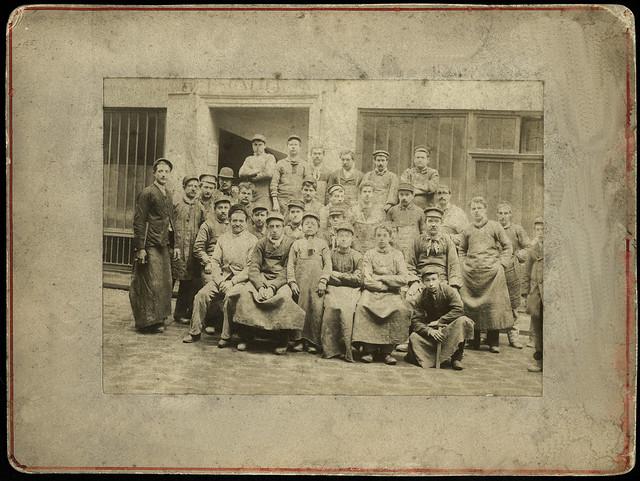 Archiv U841 Handwerker, Paris, 1900er