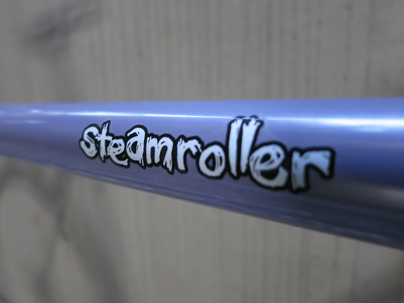 SURLY Steamroller Lilac Dura Ace Logo 2