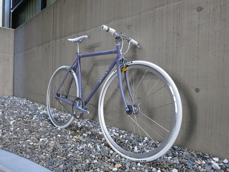 SURLY Steamroller Lilac Dura Ace 2