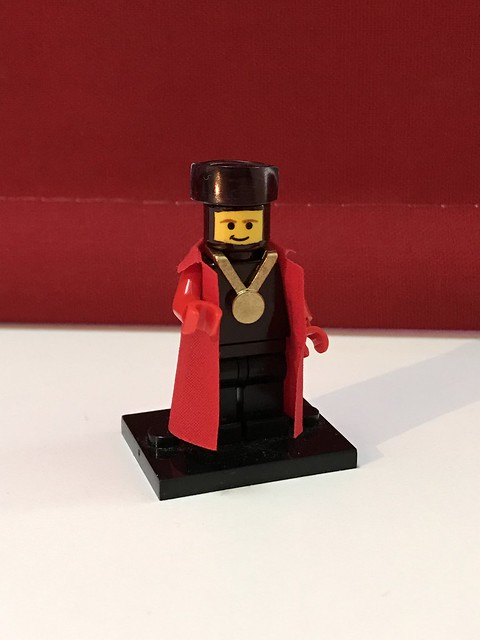 Lego Star Trek TNG Q Judge