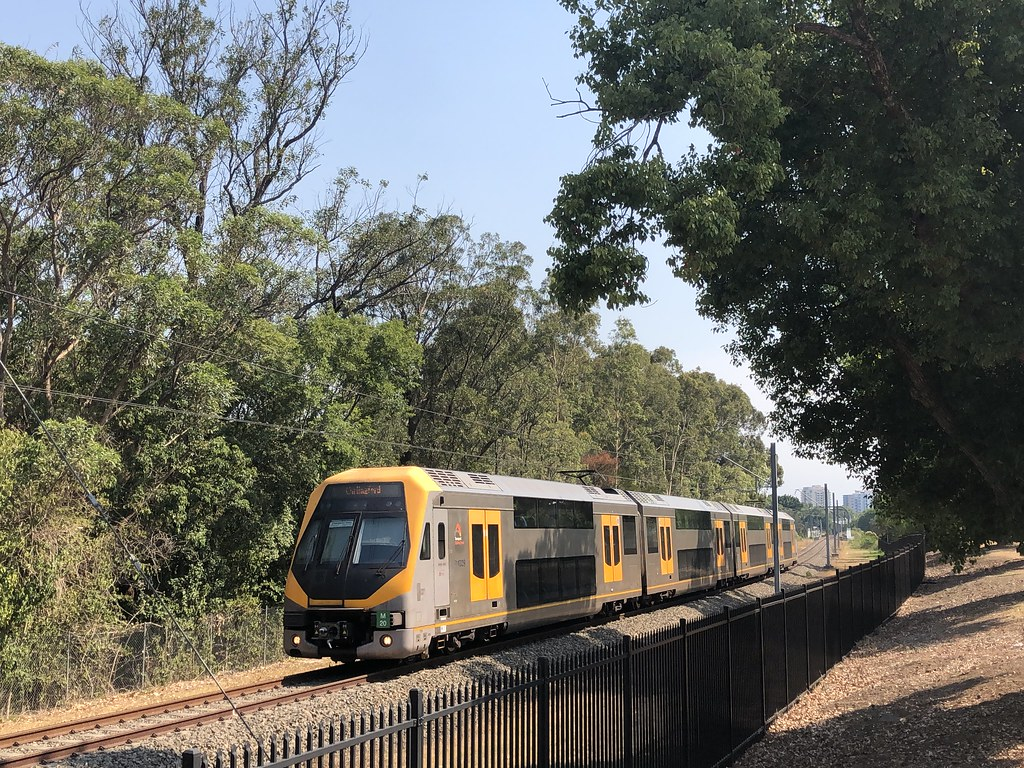 Approaching Rydalmere ...