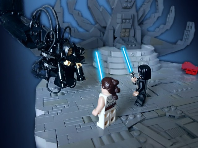 Moc Star Wars Episode Ix The Rise Of Skywalker Showdown On Exegol Lego Star Wars Eurobricks Forums
