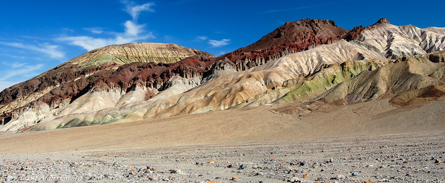 The Death Valley's Colors !