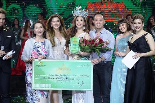 Miss Silka Philippines 2019's big winner, Jaimee Nicole Angeles Manio
