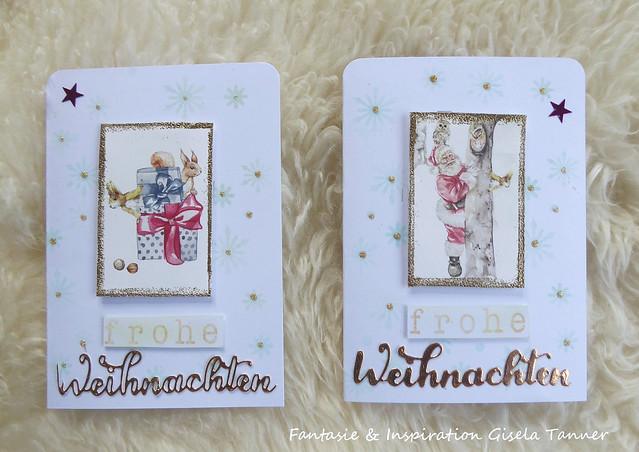 Weihnachtskartennachlese