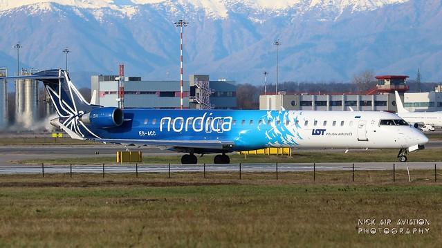 ES-ACC Nordica Bombardier CRJ-900ER (CL-600-2D24)
