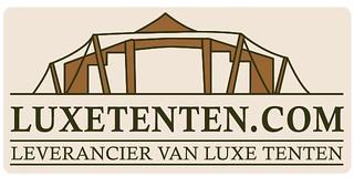 Luxe tenten logo flyer