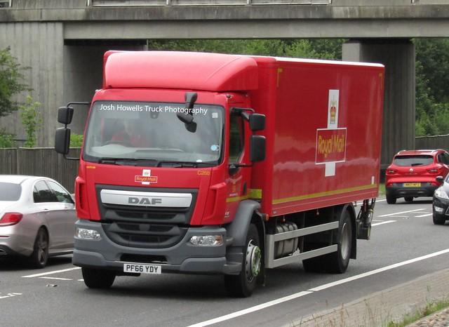 Royal Mail PF66 YDY At Welshpool