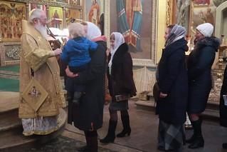 01.01.2020 | Первая Литургия Новгород года в Иверском монастыре