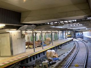 銀座線 渋谷駅 新ホーム供用開始