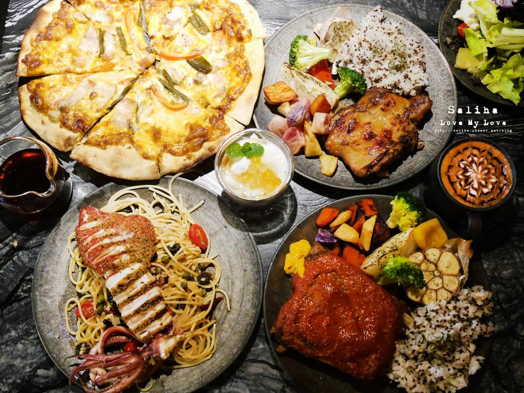新北鶯歌老街一日遊必吃美食餐廳推薦燧人炊事排餐義大利麵氣氛好 (2)