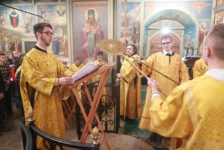 04.01.2020 | Божественная литургия в Иверском монастыре