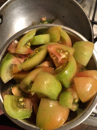 Green tomato chutney | by wompindiacooks