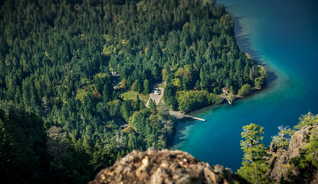 From The Top of Mount Storm King - Olympic National Park - September 2019