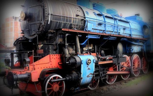 Tito's Blue Train (locomotive ЈЖ 11-022 1947.)