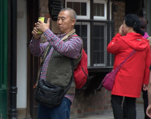 Taking photos of people taking photos - 1
