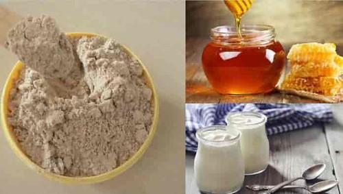 Mặt nạ cám gạo sữa chua mật ong