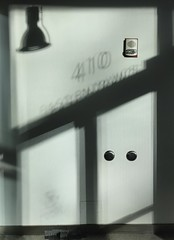 Silhouette doorway